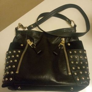 😍B.Makowsky STUDDED Bag!!GORGEOUS!!OFFERS PLEASE!
